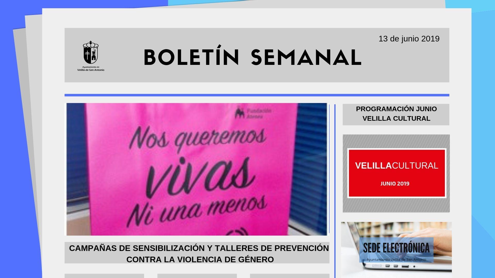 Boletín Semanal 20/2019