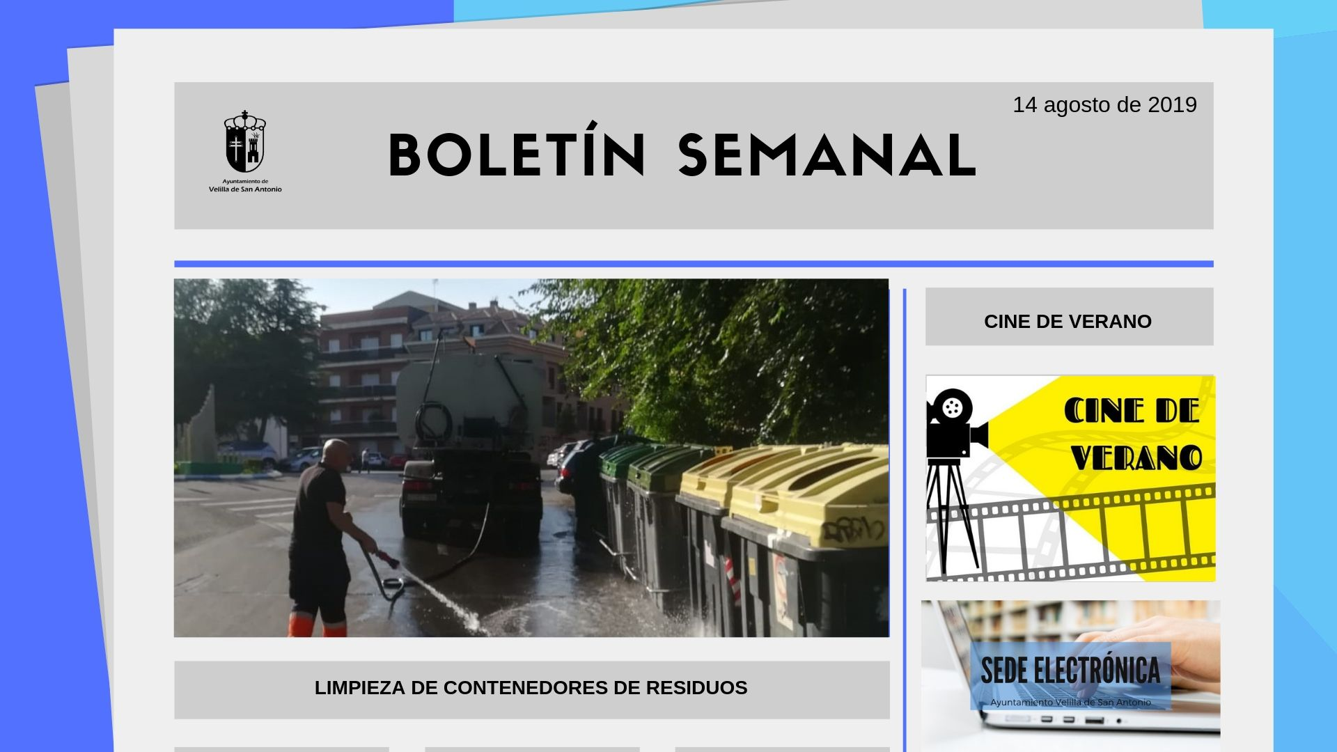 Boletín Semanal 28/2019
