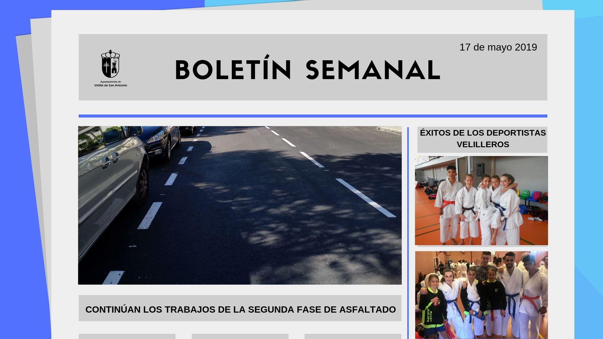 Boletín Semanal 16/2019