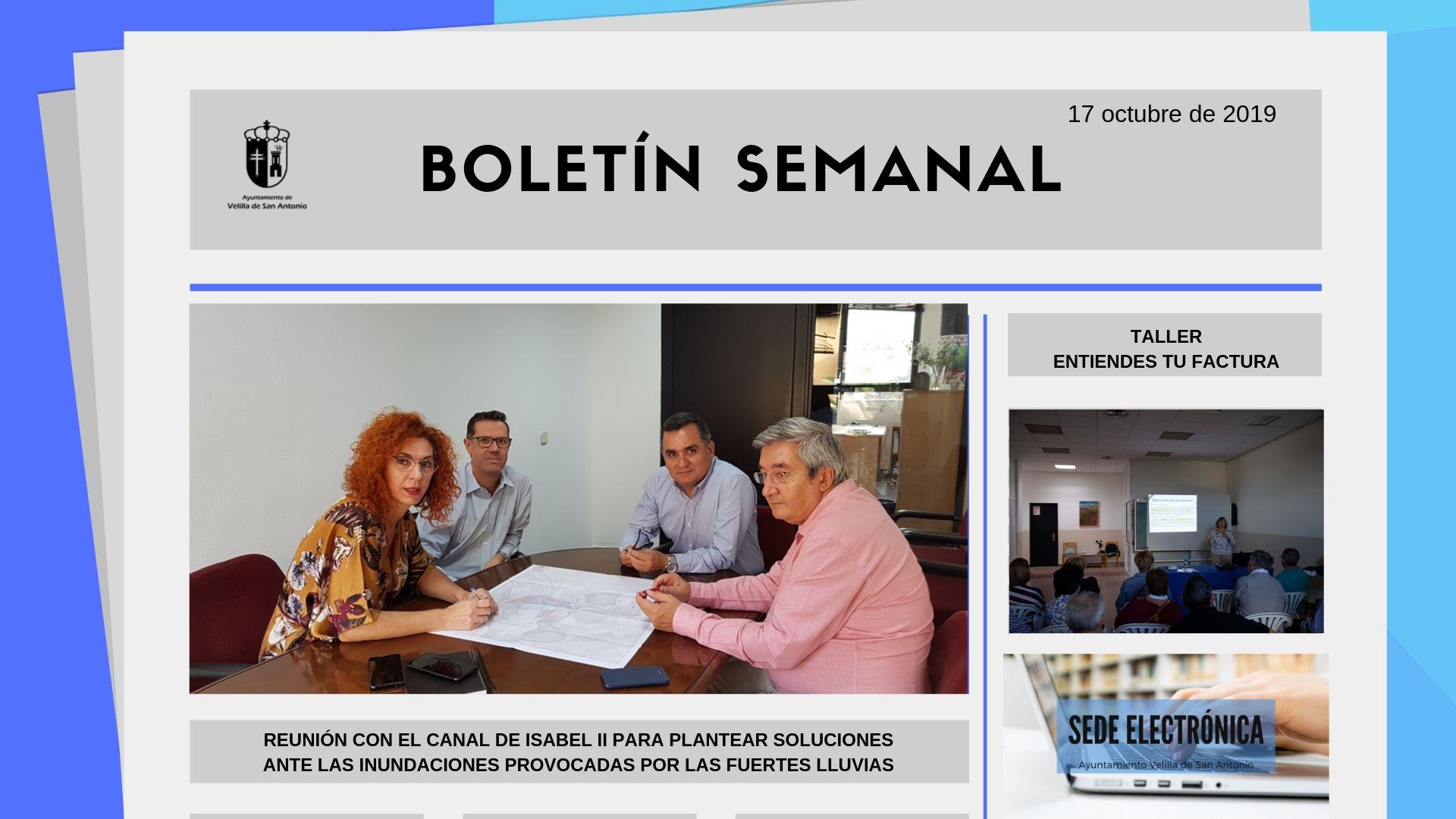 Boletín Semanal 34/2019