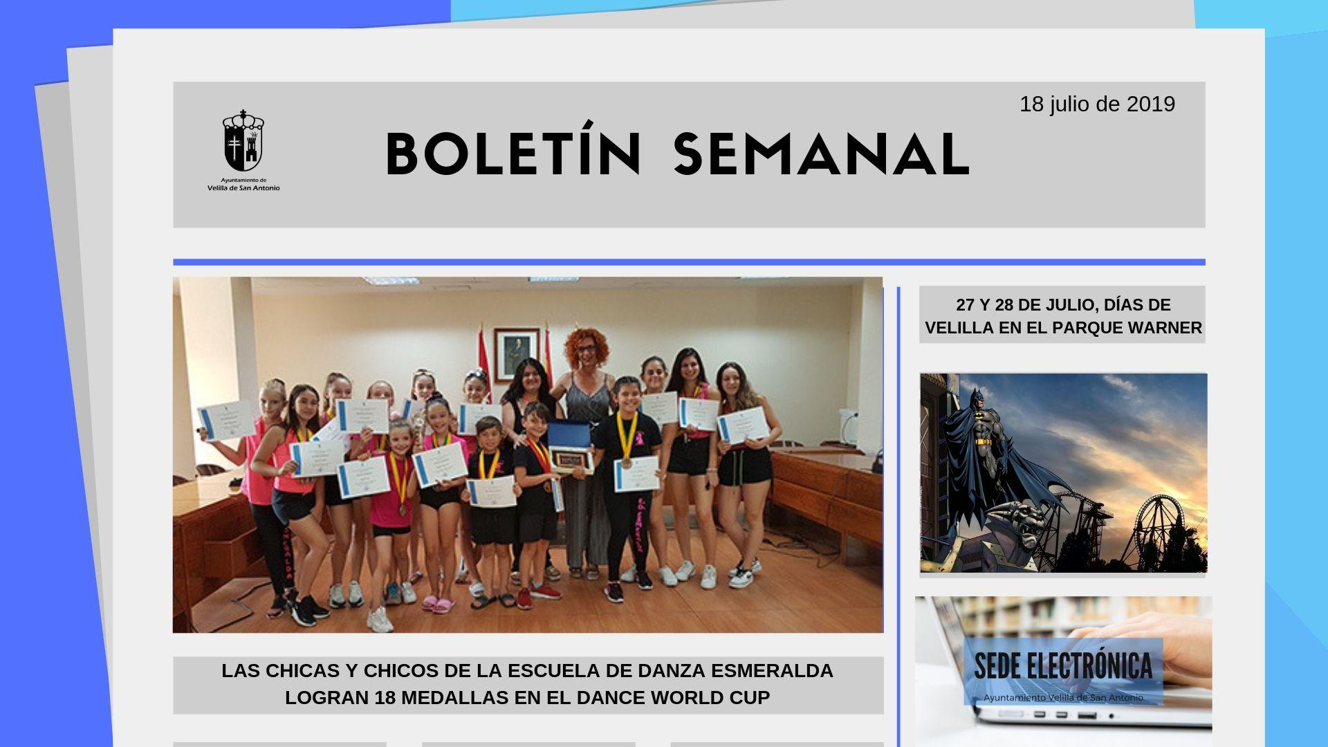 Boletín Semanal 25/2019