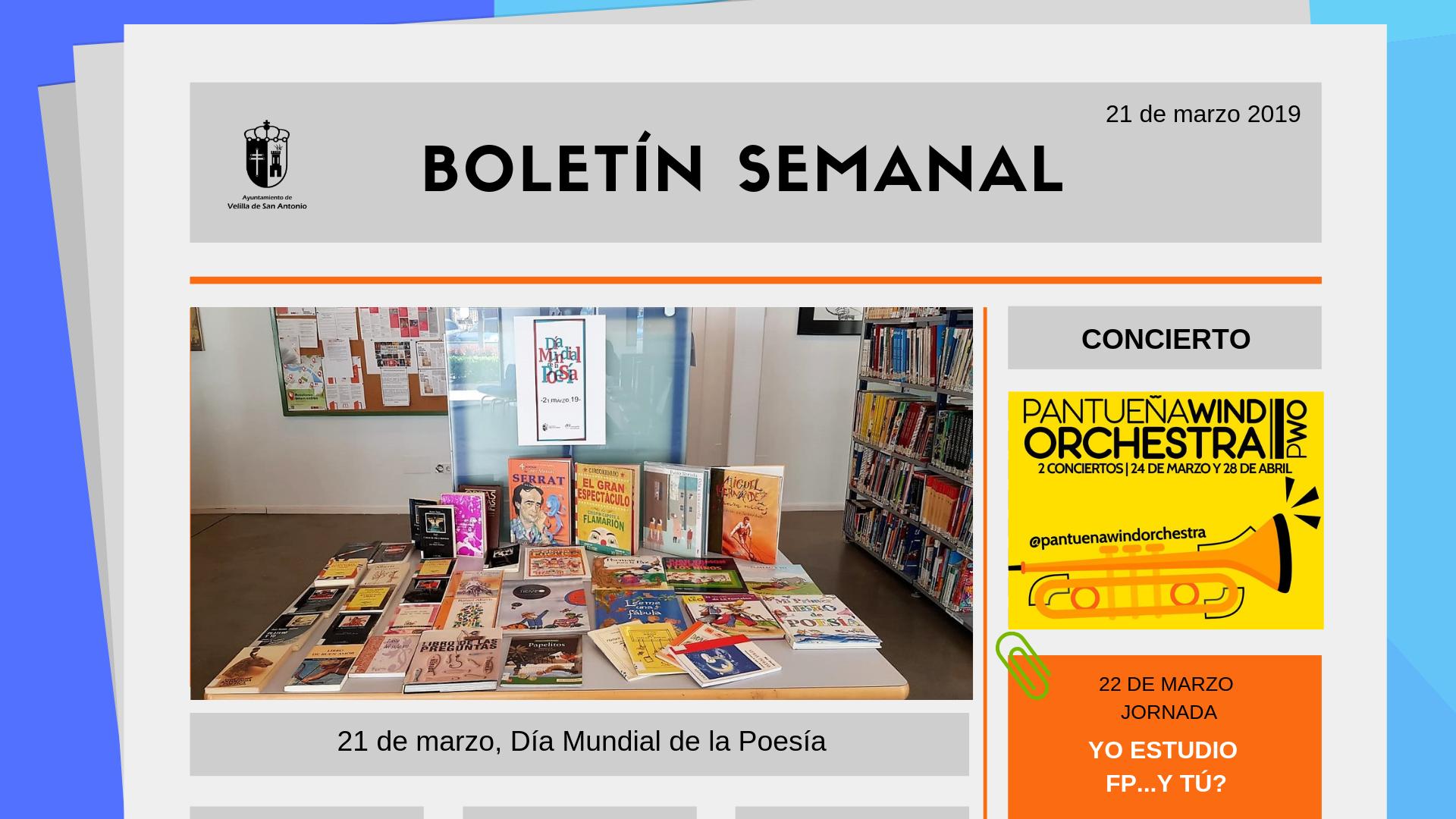 Boletín Semanal 10/2019