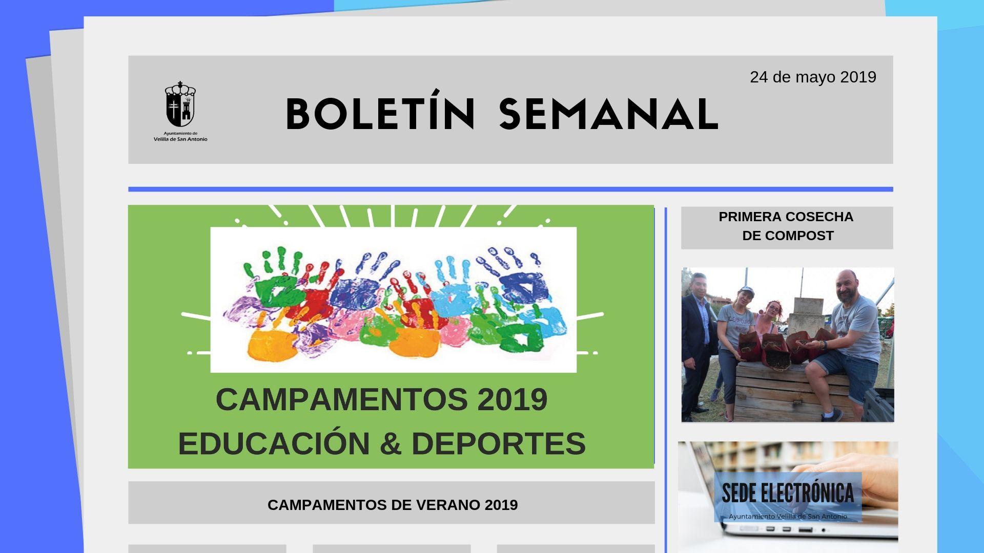 Boletín Semanal 17/2019