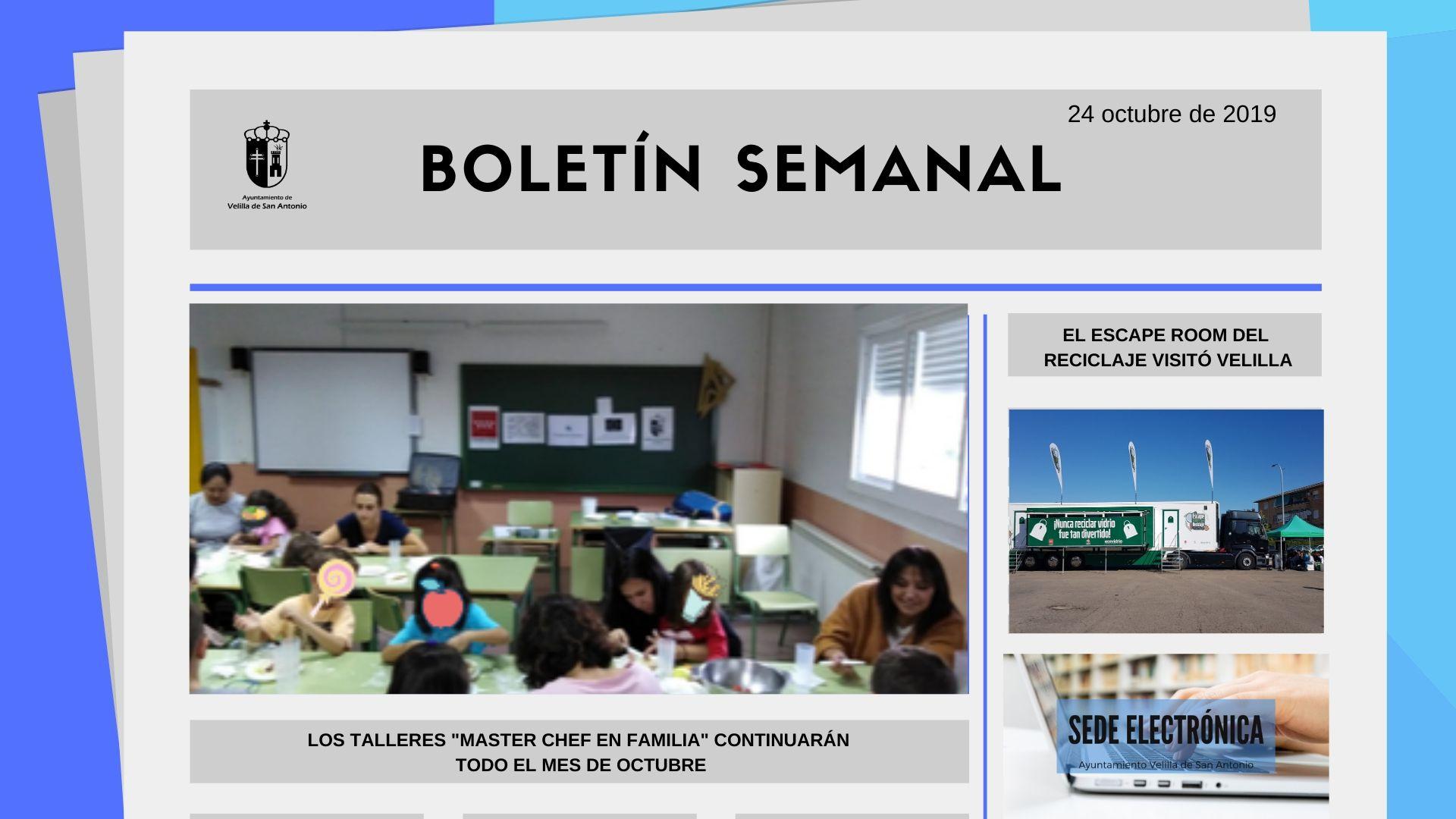 Boletín Semanal 35/2019