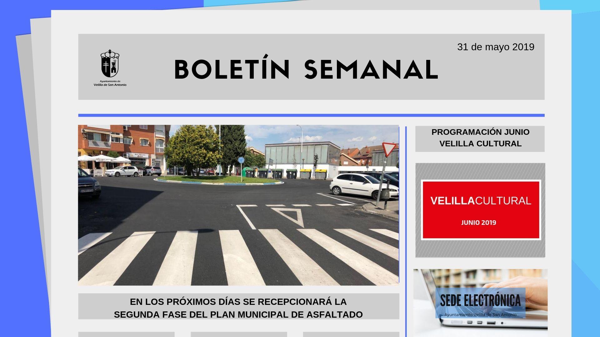 Boletín Semanal 18/2019