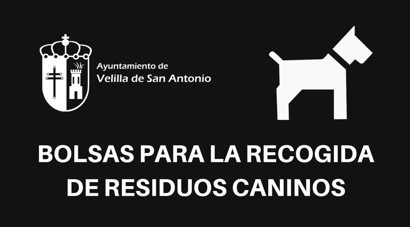 El Ayuntamiento de Velilla pone a disposición de los vecinos bolsas biodegradables para la recogida de excrementos caninos