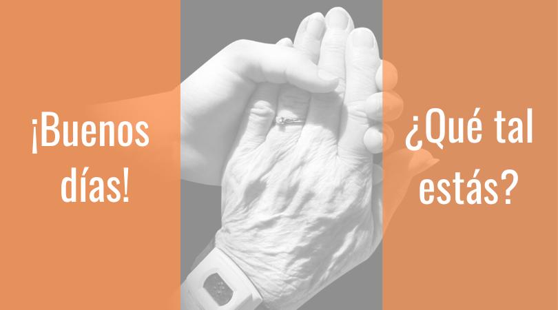 Servicio de Acompañamiento para personas mayores a través de Servicios Sociales y Solidaridad Intergeneracional