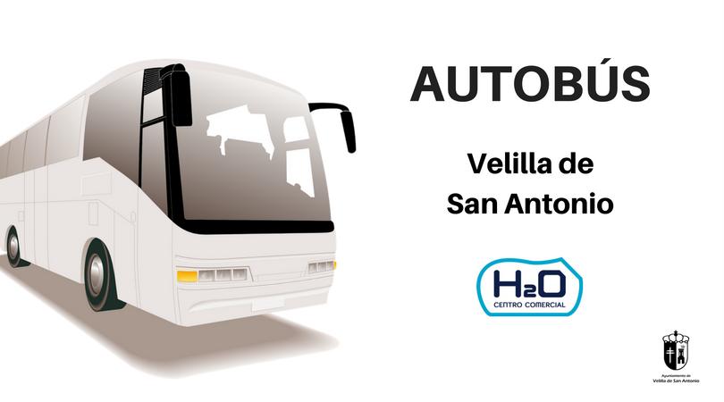Este sábado 25 de noviembre se pone en marcha el autobús Velilla-H2O
