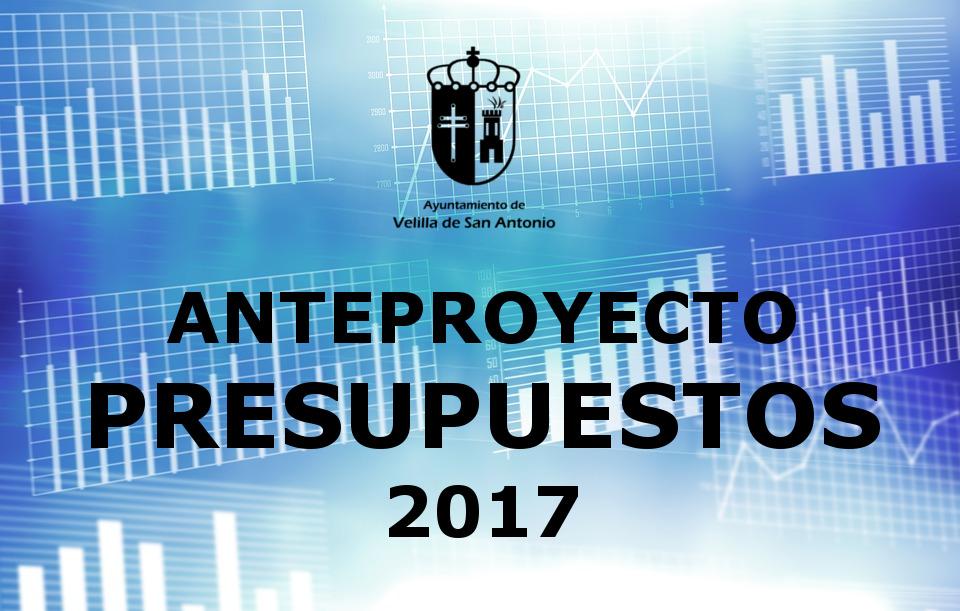 El equipo de gobierno presenta el anteproyecto de los presupuestos 2017