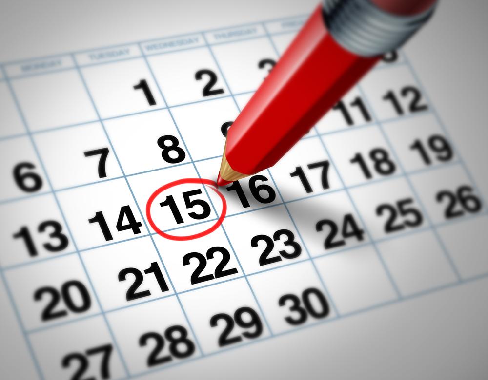 Aprobado el calendario fiscal para el 2017