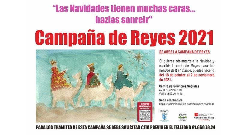 Del 18 de octubre al 2 de noviembre, Campaña de Reyes 2021
