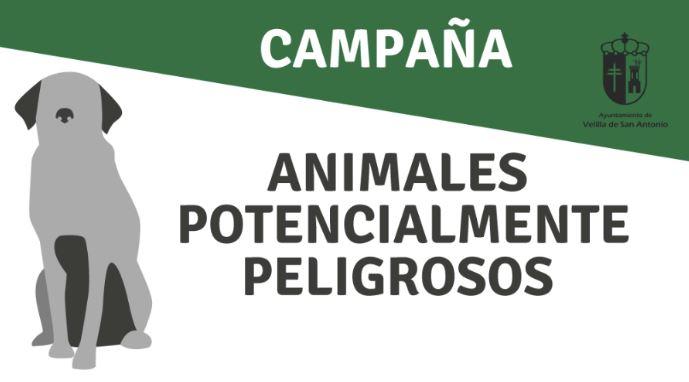 Es tu mascota, es tu responsabilidad. Campaña informativa sobre animales potencialmente peligrosos.