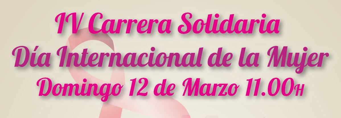 IV Carrera Solidaria, Día Internacional de la Mujer