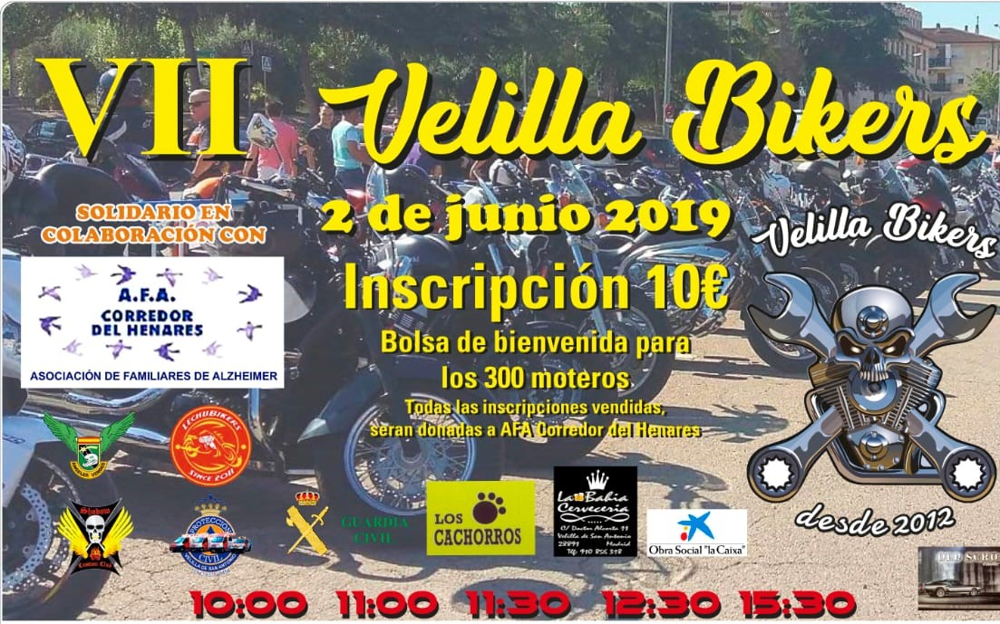 En junio regresa Velilla Bikers