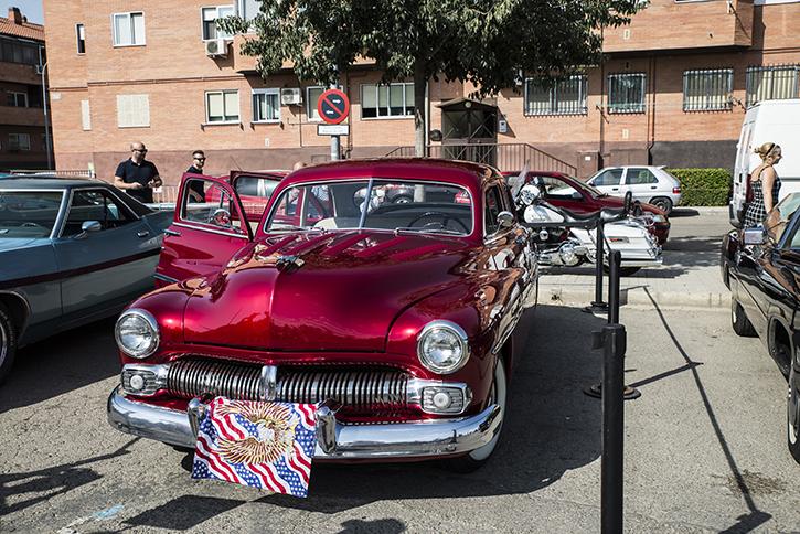 2018 III Evento coches clásicos y americanos Velilla de San Antonio