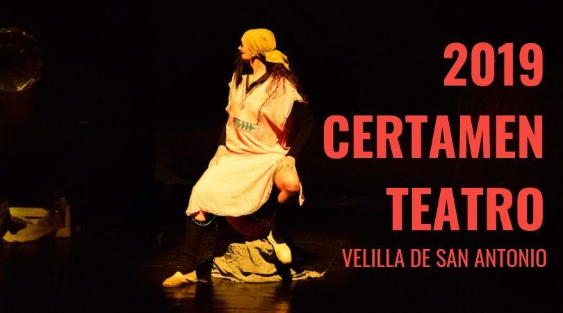 27 de octubre y 17 de noviembre, fechas de celebración del XVII Certamen de Teatro Aficionado Velilla de San Antonio