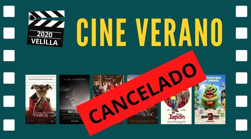 Se cancela el cine de verano