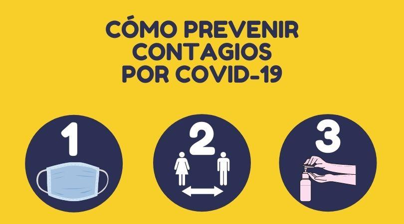 Cómo prevenir contagios por COVID-19