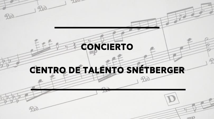 La Escuela Municipal de Música de Velilla y la Pantueña Wind Orchestra clausurarán el concierto del Centro de Talento Snétberger en el Auditorio Nacional