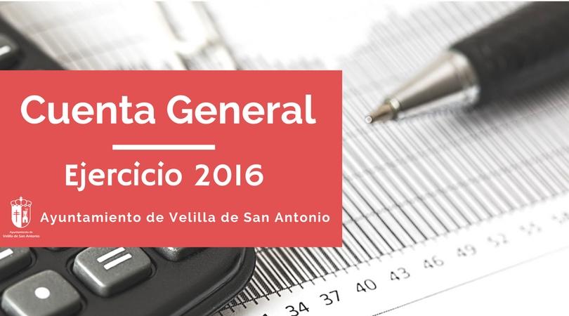 Exposición pública de la Cuenta General 2016