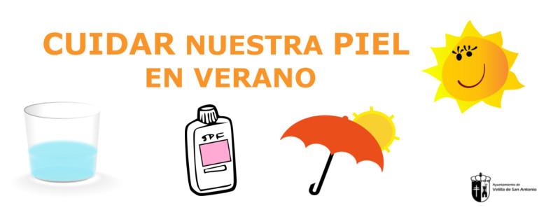 """El Ayuntamiento de Velilla comienza con la campaña """"Cuidar nuestra piel en verano"""""""