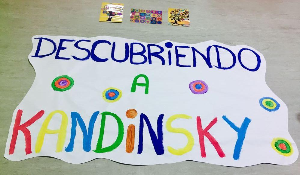 """Descubriendo a Kandinsky"" en la EIM El Cascanueces"