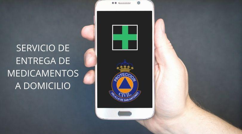 Protección Civil Velilla llevará la medicación de los enfermos crónicos que lo soliciten a sus domicilios