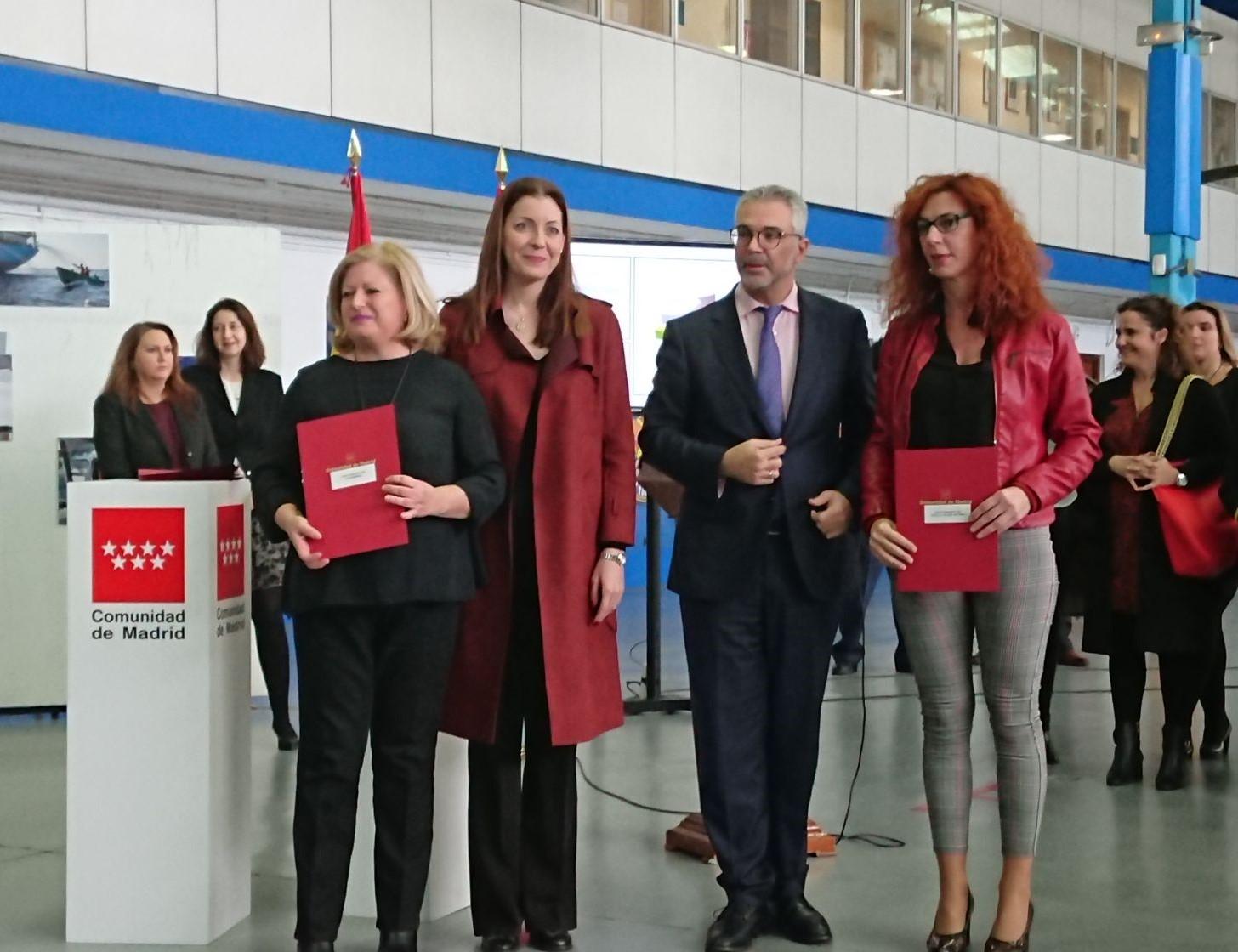 La Alcaldesa de Velilla asistió ayer al acto de entrega de los Convenios de Colaboración en materia de violencia de género y promoción de la igualdad