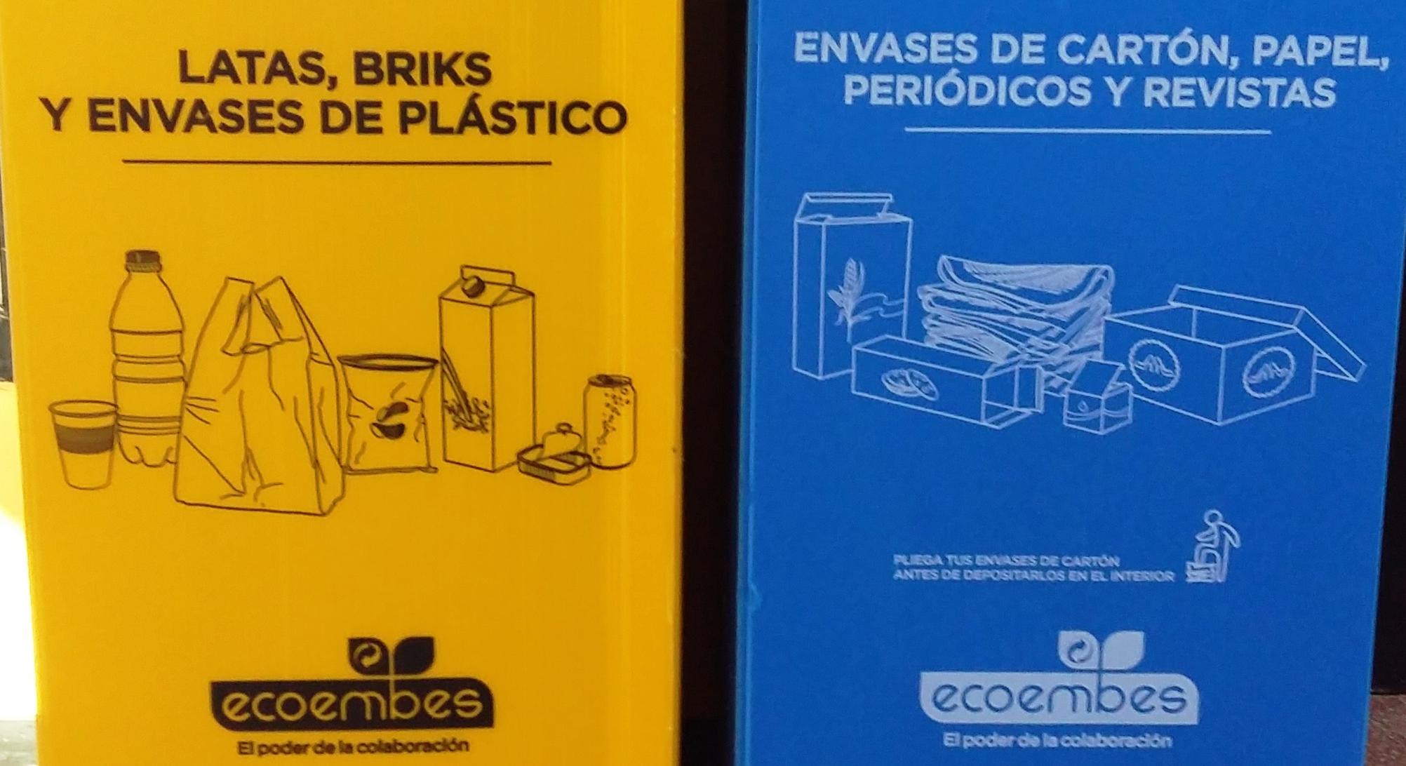 El Ayuntamiento de Velilla en colaboración con Ecoembes, fomenta el reciclaje en los edificios municipales y centros públicos del municipio