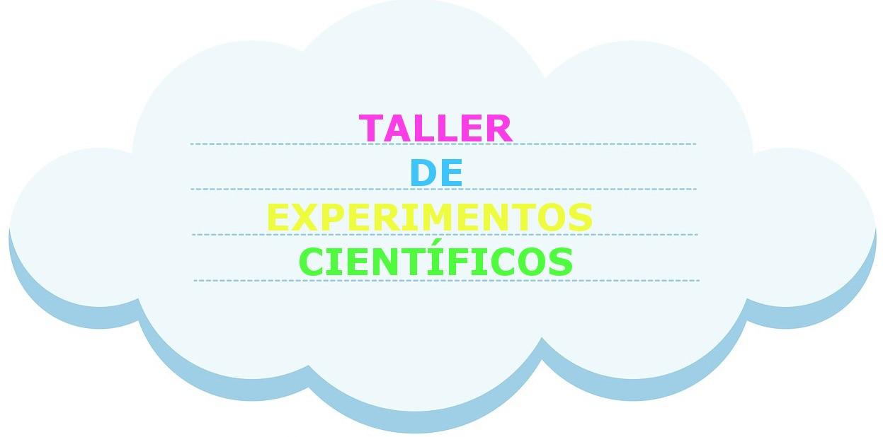 Taller de experimentos científicos