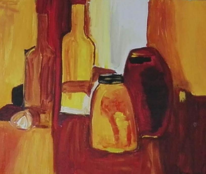 Exposición pintura y cerámica
