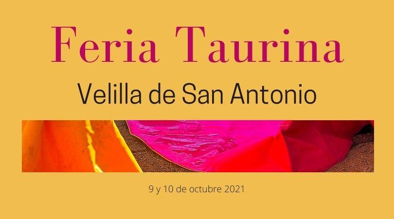 Feria Taurina Velilla de San Antonio