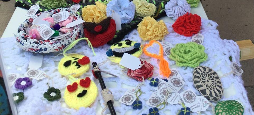 El domingo 14 de mayo se celebró en Velilla la Feria de Artesanía coincidiendo con la llegada del II Camino de Cervantes