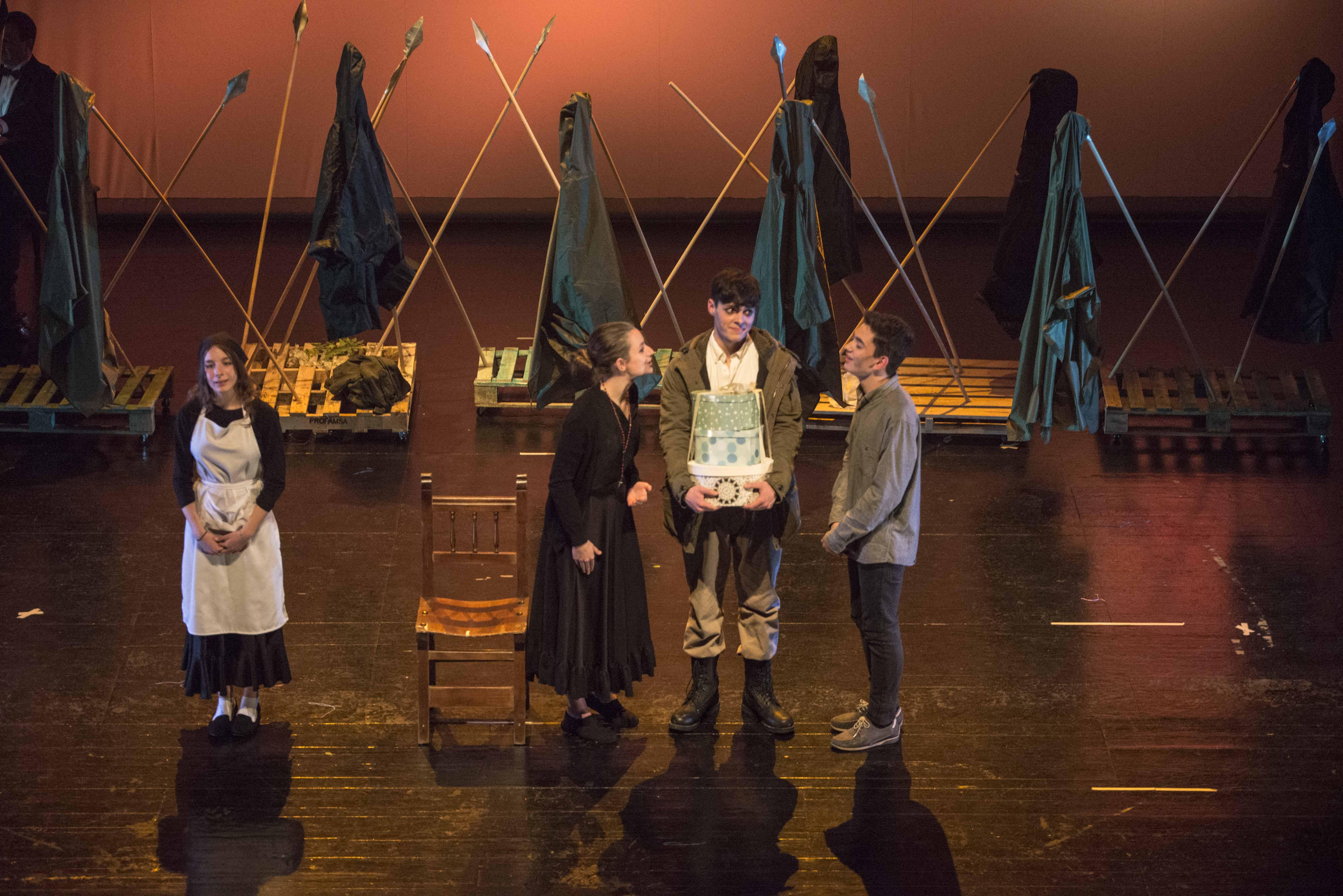 El IES Ana María Matute vuelve a quedar finalista en el Certamen de Teatro Escolar de la Comunidad de Madrid