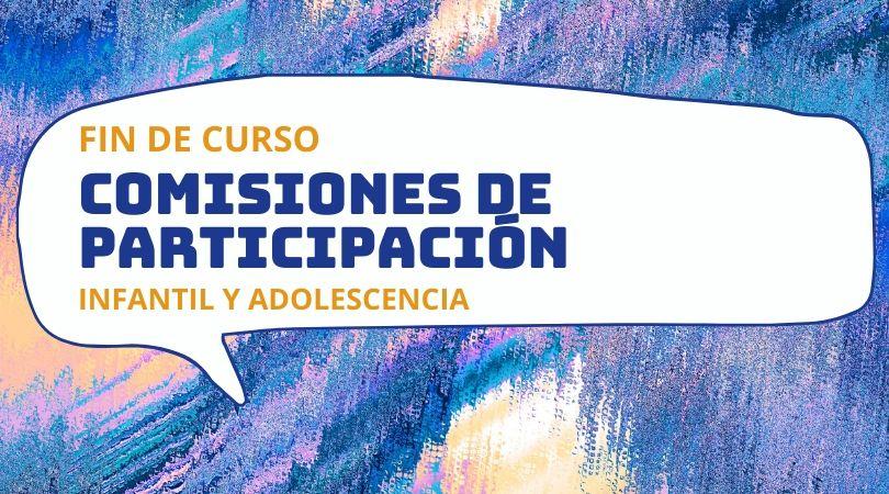 Las Comisiones de Participación Infantil y de Adolescencia cierran el curso con un vídeo resumen de las actividades de este año