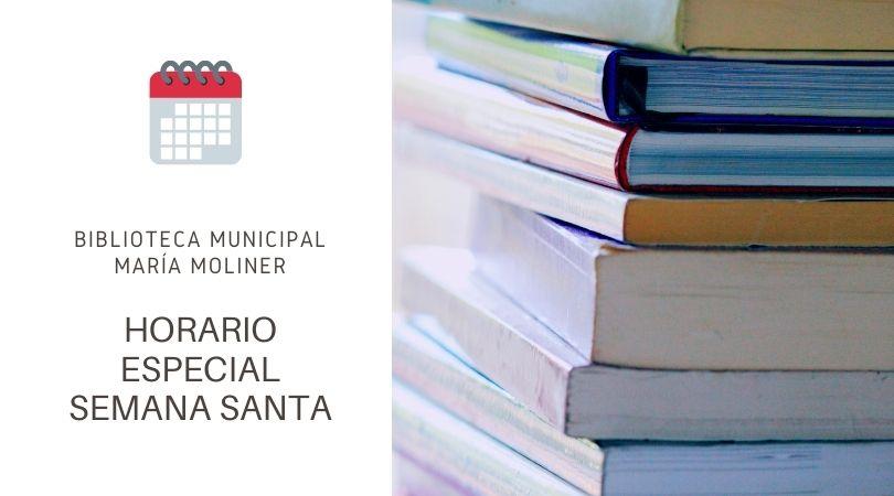 Horario biblioteca Semana Santa