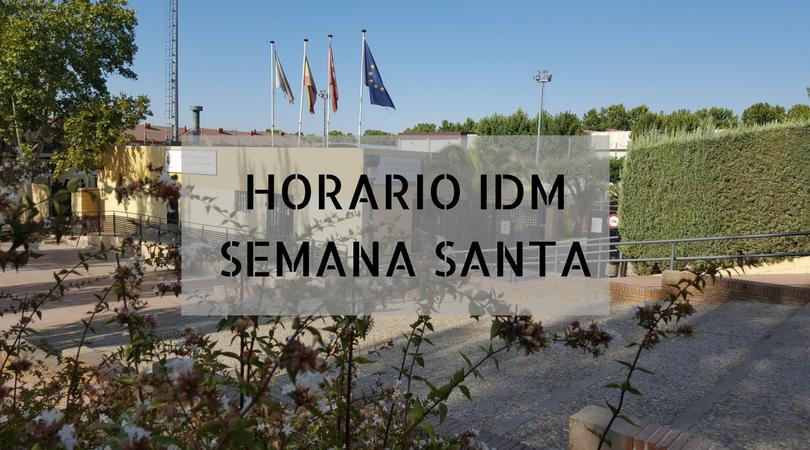 Horario de las IDM en Semana Santa