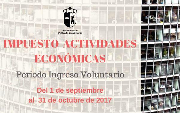Impuesto de Actividades Económicas ejercicio 2017