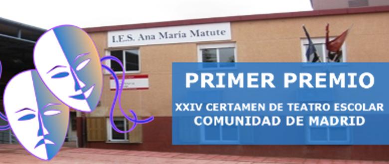 El IES Ana María Matute, Primer Premio del XXIV Certamen de Teatro Escolar de la Comunidad de Madrid