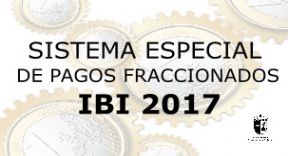 Sistema especial de pagos fraccionados IBI 2017