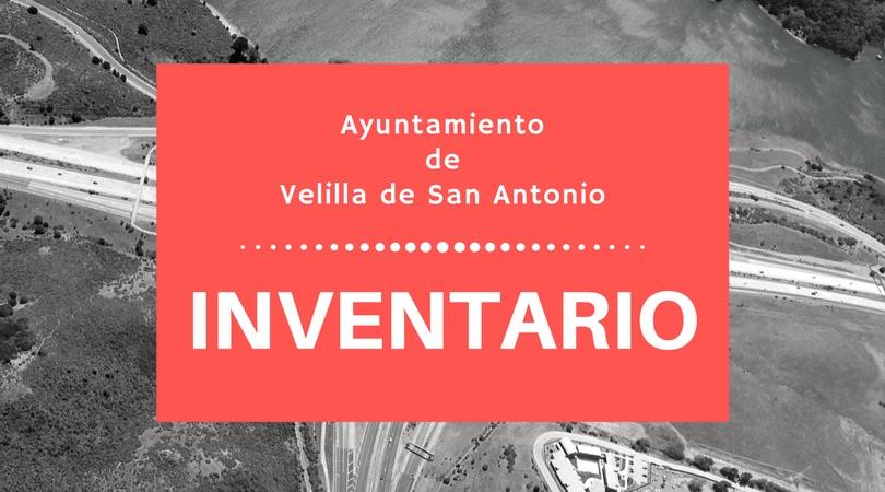 Inventario del Ayuntamiento de Velilla