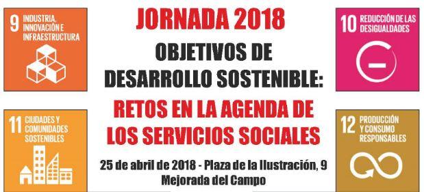 """Jornada """"Objetivos de desarrollo sostenible: Retos en la agenda de servicios sociales"""""""