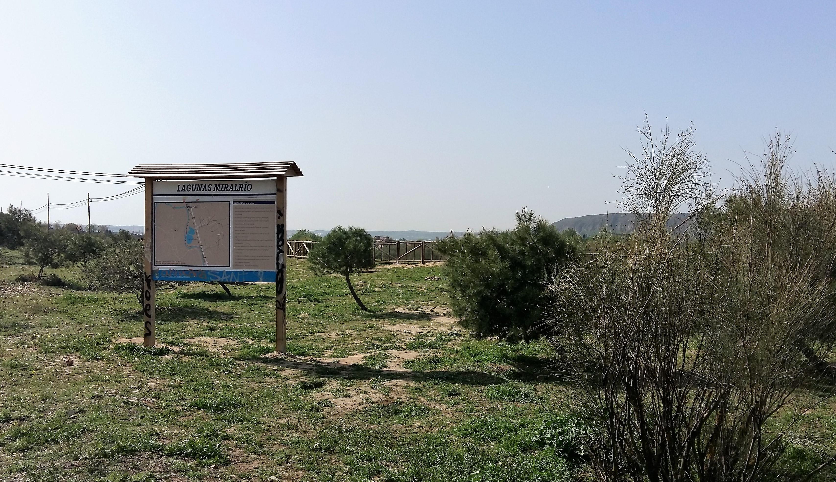 """La laguna Miralrío fue uno de los escenarios elegidos para la segunda edición de """"1m2 por la naturaleza"""""""