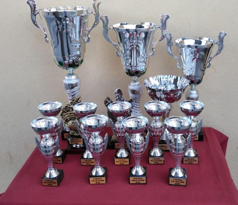 2018 Entrega de trofeos liga local Velilla 2017-2018