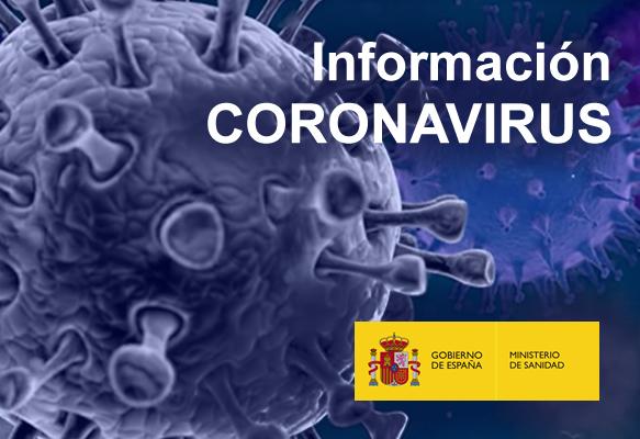 logo ministerio sanidad coronavirus