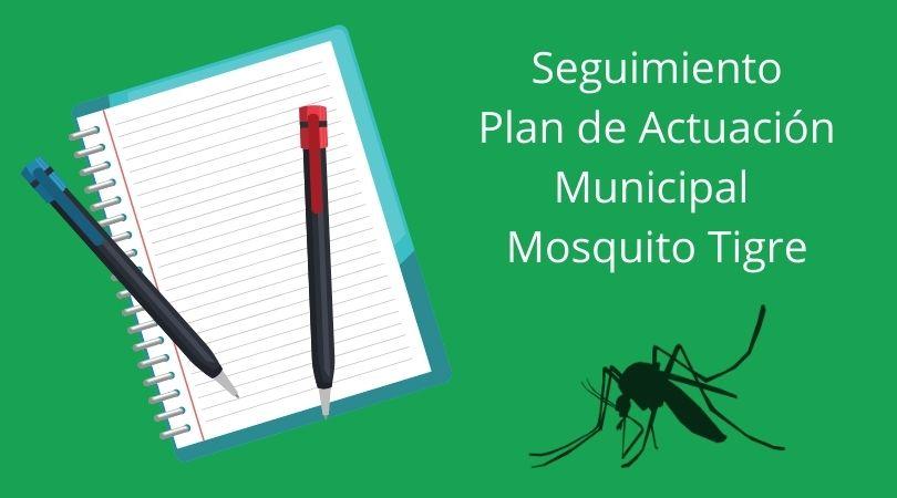 Reunión de seguimiento del Plan de Actuación Municipal del mosquito tigre