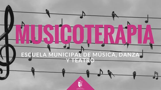 Musicoterapia en la Escuela de Música, Danza y Teatro Municipal
