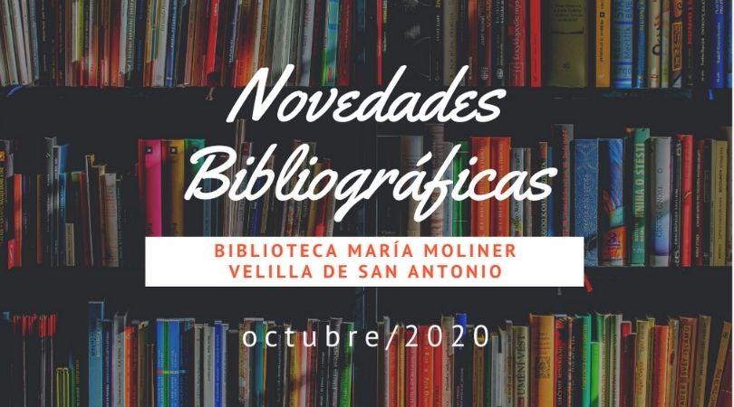 Novedades bibliográficas en la biblioteca