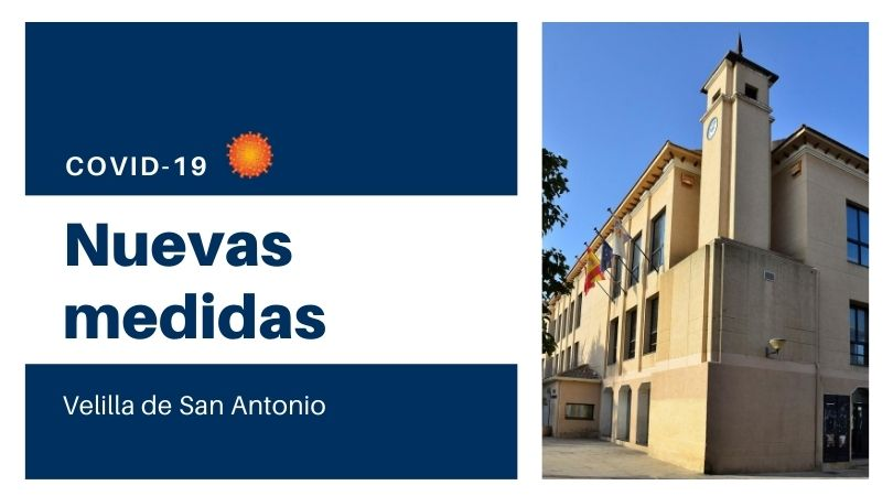 El Ayuntamiento de Velilla adoptará, a partir del lunes, medidas preventivas de forma temporal para evitar posibles contagios por coronavirus