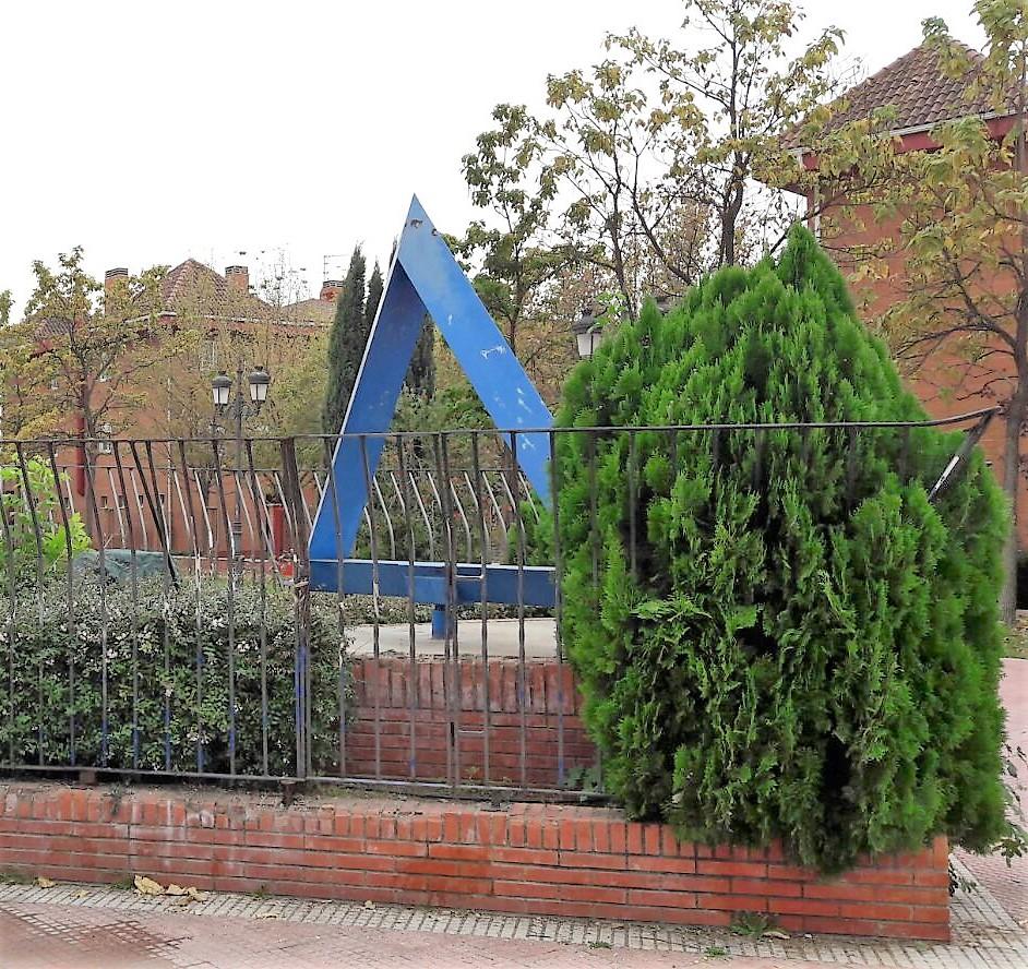 El Ayuntamiento de Velilla repondrá la placa del parque del Triángulo Azul en recuerdo de la tragedia que vivieron los españoles en Mauthausen